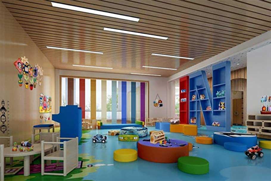 长沙幼儿园装修设计,不同色彩搭配,不同个性特色!148.jpg