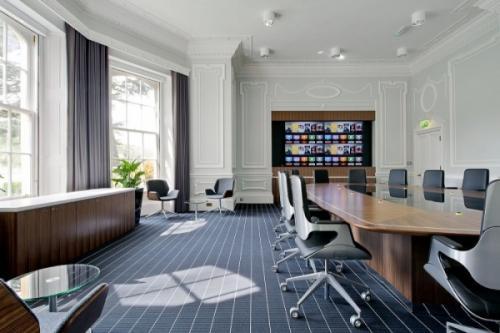办公室装修设计要留意全部路线的整体规划